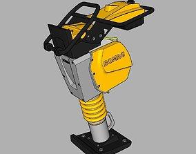 machinery 3D Bomag BT65