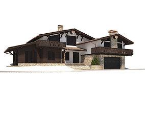 Cottage house 3D
