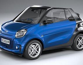 Smart EQ Fortwo Cabrio 2020 3D