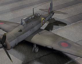 Blackburn B-24 Skua Mk-2 3D model