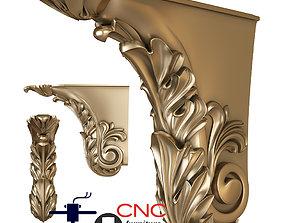 Architectural bracket 3D printable model