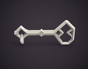 The Hobbit Key to Erebor 3D printable model