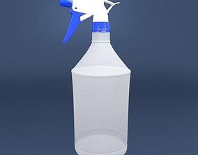 hose 3D model Spray Bottle