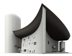Notre Dame du Haut de Ronchamp 3D model