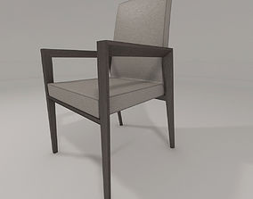bess armrest chair by calligaris 3D model