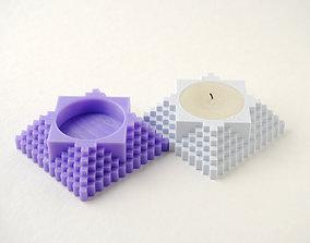 3D printable model palmatoria Tealight Holder