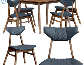 Dining group Rollo 3D