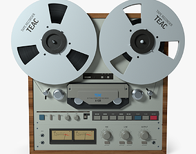 3D model receiver Tape Recorder