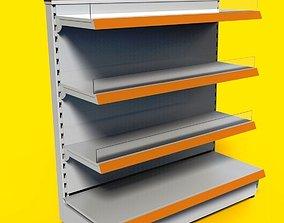 3D model Shelving system WINDOW UNIT 1050 mm 3xshelfs