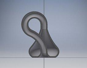 3D printable model Nice Looking Klein Bottle