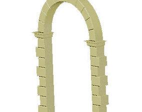 3D printable model Arco a tutto sesto Romano