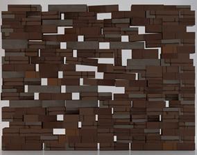 3D asset realtime Brick Wall