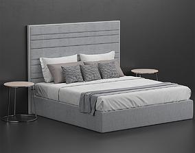 porada boheme bed 3D