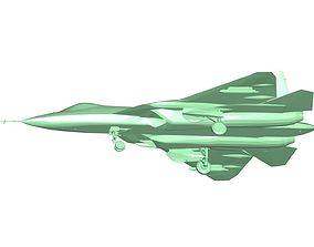 Russian Su-57 Fighter 3D print model