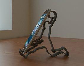SlamDunk 3D Printable Phone-Stand - NBA player