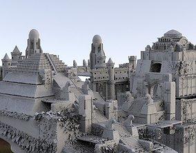 Temple Fantasy 3D model