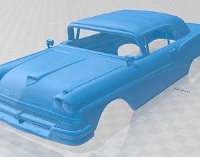 Fairlane 500 Sunliner 1958 Printable Body Car