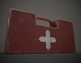 Medium Medkit 3D asset
