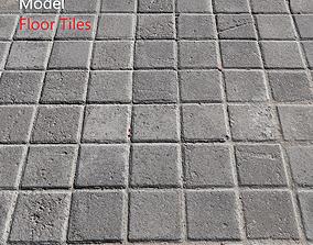 Ultra realistic Tiles Floor Scan 3D beach