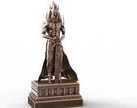 Wood elf deity statue 3D model