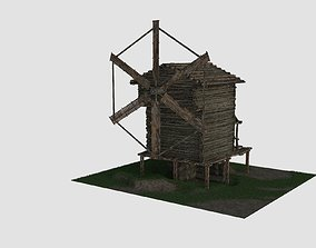 building 3D model Wind Mill