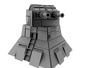 starwars Star wars Turbolaser tower 3D print model