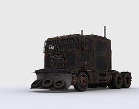 3D model Apocalyptic truck
