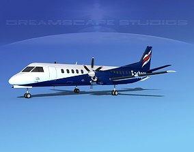 SAAB 2000 Eastern Airways 3D