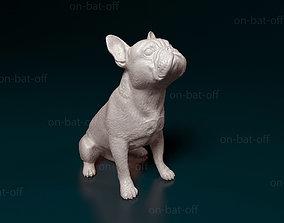 3D printable model french French bulldog