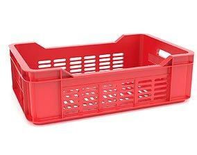 3D model Plastic crate 40