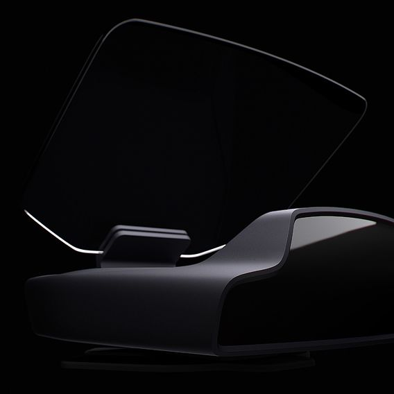 Navion - is the first holographic AR navigation system for cars