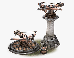 3D model Ballista Tower Pack