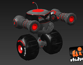 Attack Bot 3D model