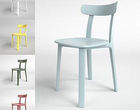 Vitra All Plastic Chair Blender Cycles 3D