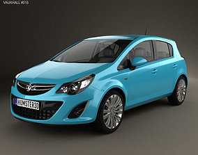 Vauxhall Corsa 5-door 2010 3D model