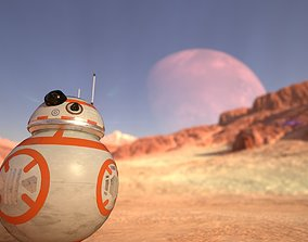 3D model Star Wars Character BB 8