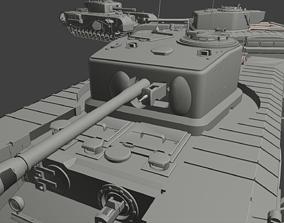 Churchill A22 Tanks 3D printable model