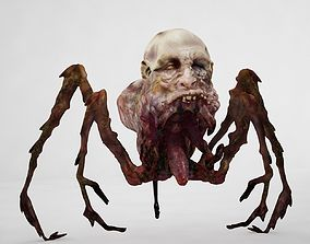 Spider Zombie 3D model