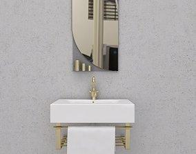 wash basin interior 3D model