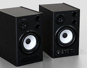 3D model Pair of Speakers