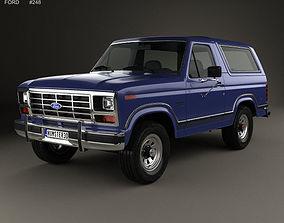 Bronco 1982 3D model