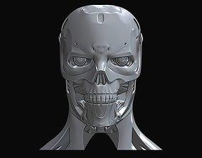 3D printable model Terminator Rev 9 Head Bust