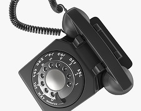 Old Phone 3D model low-poly