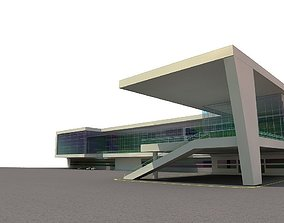 3D model central building