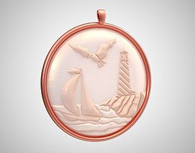 Lighthouse Necklace 3D printable model