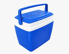 3D Cooling box with handle