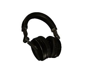 Headphones VR AR low-poly 3D model