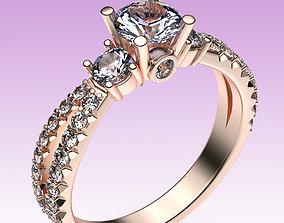 3D printable model Ring Split Shank