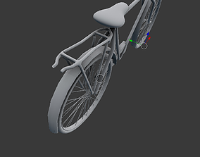 bicycle 3D model cycling