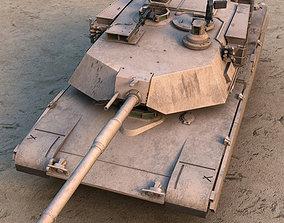 M1A1 Abrams US tank 3D